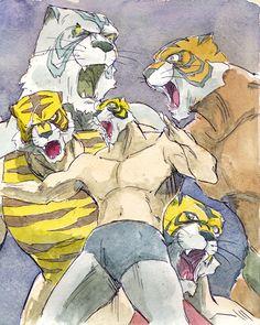 Tiger-masks by NORIMATSUKeiichi.deviantart.com on @deviantART