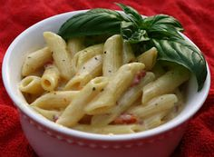 The Food Gospel According to Ruth: Penne Pasta with Sun-Dried Tomato Cream Sauce
