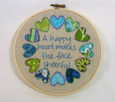 Embroidery hoop... for LHH on craftster.. IYP 20