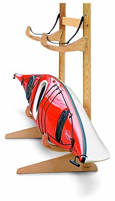 AmazonSmile : Talic Cayuga - 2 Boat Freestanding Kayak Storage Rack : Indoor Kayak Storage Racks : Sports & Outdoors