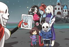 Oh my gosh he WOULD do this XD -- Actually, I think Mettaton would do that before Papyrus