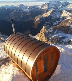 Having a sauna on top of the world at 3000 mt with this view... priceless Only here in the Dolomiti  #dolomiti #dolomites #turismo #tourism #italia #Mountain #snow #winter #ski #italy #sellaronda #skitour #montagne #skisafari #skiguide #powder #snowboard #valbadia #valdifassa #valgardena #sauna #trentino #instatrentino #ig_italia_ http://ift.tt/1sbHTFk #worldheritage #unesco #spa  #lagazuoi #onepictureadaydolomiti2017 @dolomitimountain #onepictureadayfrancesco  Foto Copyright @francesco_eri…