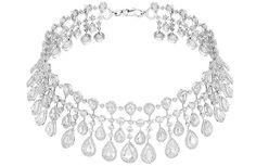 Chopard. diamond choker necklace...♡