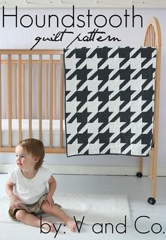 quilt for new baby boy