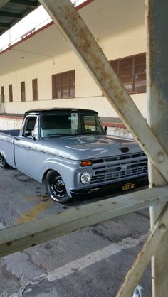 66 Ford F 100...  Nice paint on this sharp truck that you can still get at a reasonable price.(unpainted ofcourse!)