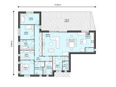 New Homes, Floor Plans, Modern, Houses, Trendy Tree, New Home Essentials, House Floor Plans