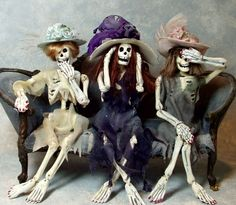 The Haunted Dollhouse - Patricia Paul Studio                                                                                                                                                                                 More