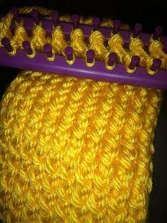 Loom knitting by CRAFTY.GRANDMA56