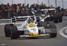 Jacques Laffite of France drives the #5 Saudia Williams Honda Williams FW09 Honda V6T turbo during the French Grand Prix on 20th May 1984 at the Circuit Dijon Prenois in Dijon, France.