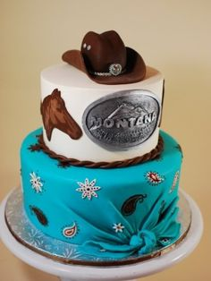 Cow Girl Birthday Cake - Taylor
