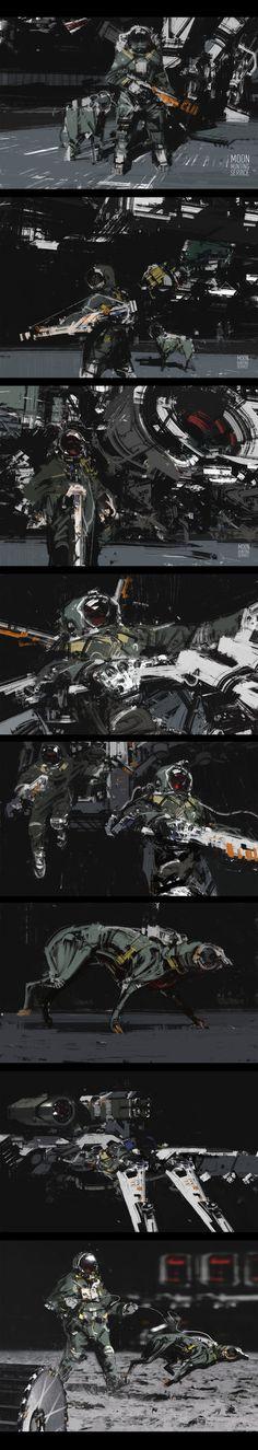 Moon hunting service by jamajurabaev on deviantART