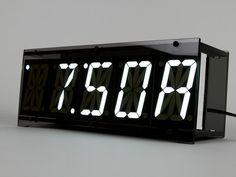 digital alarm clock open source ready to hack