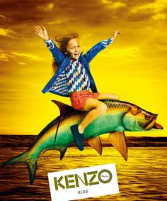 Flashback Kenzo Kids Girls Collection Photo. Super cute photo shoot. Love this designer girls clothing brand. Mini Me style from Paris, France.