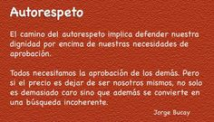 AUTORESPETO - Jorge Bucay