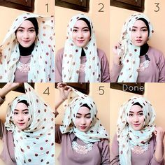This is a beautiful hijab tutorial anyone can create using a maxi hijab along with an underscarf, you can create a side touch to make it look more stylish. Here are the steps to this look: 1. Place the hijab…