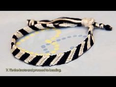 How To Make A Monochrome Bracelet - DIY Style Tutorial - Guidecentral