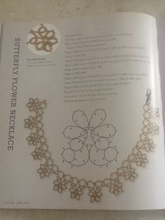 Tatting Jewellery - Lyn Morton