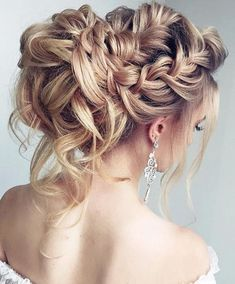 Wedding Hairstyles With Braids Pictures beautiful braided wedding hairstyle for long hair 2662683 Wedding Hairstyles With Braids. Here is Wedding Hairstyles With Braids Pictures for you. Wedding Hairstyles With Braids 34 beautiful braided wedding h. Loose Wedding Hair, Elegant Wedding Hair, Bridal Hair, Perfect Wedding, Trendy Wedding, Wedding Ideas, Formal Wedding, Hairstyle Wedding, Wedding Night