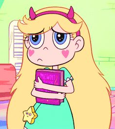 """At least you have a choice. Apparently the only thing in my future is being queen."" // ""Nothing's easy on Earth!"" Star Butterfly in ""Mr. Candle…"
