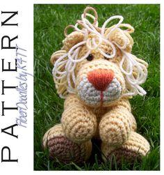 CROCHET PATTERN - Handful of Lion. $3.80, via Etsy.