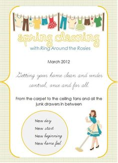 Spring Cleaning 2012