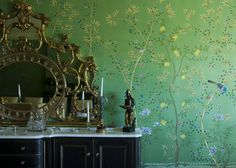 installations - Chinoiserie, Handmade Wallpaper - Fromental