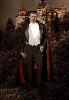 Bela Lugosi as Count Dracula.