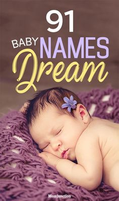 : So how about giving your child a name that means dream? To get you started with some fresh ideas on baby names meaning dream MomJunction has compiled an intensive list below. Take a look at the names and select your favorites right away. Unisex Baby Names, Cute Baby Names, Boy Names, M Baby Girl Names, Family Names, Chico California, Baby Puree, Unusual Baby Names, Unique Baby