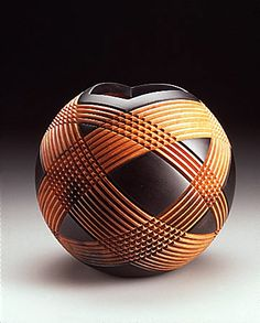 Christian Burchard - TurningGallery.org [fantastic twist on the turn-a-ball idea.]