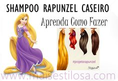 Aprenda como fazer o shampoo rapunzel caseiro sem gastar muito e realize o sonho de ter um cabelão lindo e saudável.
