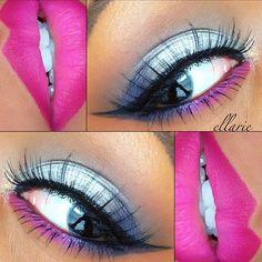 Beautiful lips and eyes!!! ✨@Ella Gustafsson Klassen✨ - @wakeupandmakeup- #webstagram