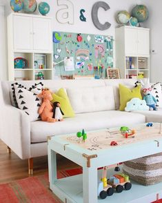 Gorgeous colourful kids space