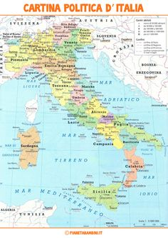 A map of Italy. I am from Naples, Calabria, and Sicily Bible Mapping, Italian Lessons, Italy Map, Italian Words, Bible Knowledge, School Subjects, Vintage School, Italian Language, Learning Italian