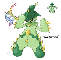 Mega Cacturne by LeafyHeart on deviantART
