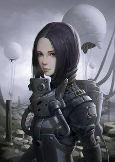 Search team, 日月 seven on ArtStation at https://www.artstation.com/artwork/JDwez