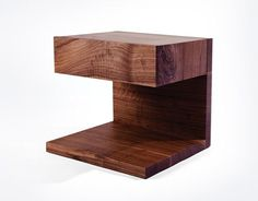 side table by vancouver designer @ChristianWoo available @providehome
