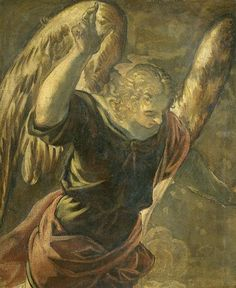 Anunciación del Ángel, 1528-1594 - Tintoretto