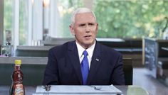 Expressing concerns about the propriety of being left alone with a syrup container of the opposite sex, Vice President Mike Pence reportedly asked his waiter Thursday to remove Mrs. Butterworth from the table until his wife arrived to join him at a local diner.