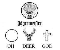The meaning behind Jägermeister logo