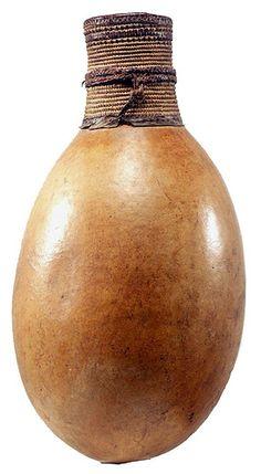 nigerian gourd vessel