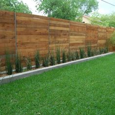 Side yard fence