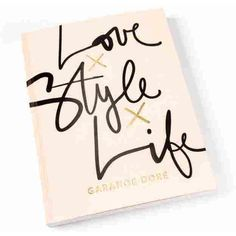 Love Style Life Book (110 PLN) ❤ liked on Polyvore featuring backgrounds, text, filler, phrase, quotes and saying