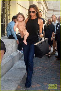 harper beckham | Harper: MoMa Visit! | Celebrity Babies, David Beckham, Harper Beckham ...
