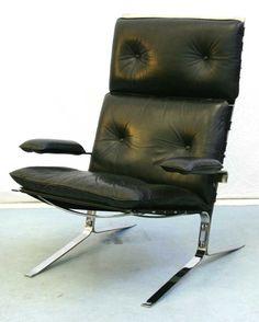 Lot:34: Olivier Mourgue Joker Chair Airborne, Lot Number:34, Starting Bid:£280, Auctioneer:Luckner's Auctioneers, Auction:34: Olivier Mourgue Joker Chair Airborne, Date:07:30 AM PT - Feb 12th, 2007