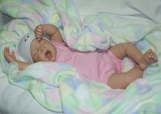 Reborn PROTOTYPE Baby Girl Doll~Evie~Linda Murray Sculpt for The Cradle | eBay