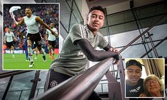Manchester United star Jesse Lingard recalls his famous Wembley strike Jesse Lingard, Career Goals, Football Players, Manchester United, The Unit, Future, Stars, Soccer Guys, Friends