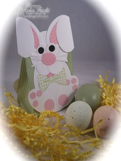 Easter Bunny Paper Craft  www.stampingcountry.com  Where Creativity Blooms