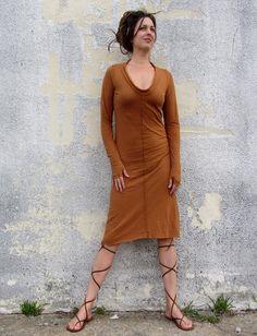 Gaia Conceptions - Warrior Simplicity Below Knee Dress, $145.00 (http://www.gaiaconceptions.com/warrior-simplicity-below-knee-dress/)