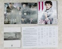 New BIGBANG T.O.P Photobook W Korea NOV 2013 Magazine TOP Unfolded with Translatation and Mini movie post