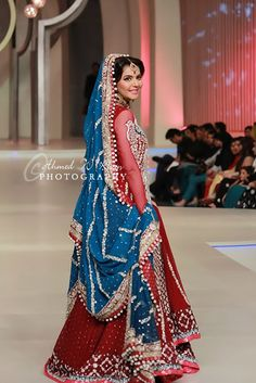Sana Abbas Collection – Pakistan Bridal Couture Week 2013